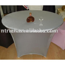 Novo estilo pano de mesa de Lycra/elastano/tampa de prata