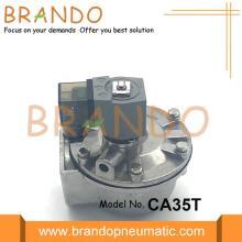 Válvula de chorro de pulso roscado para colector de polvo