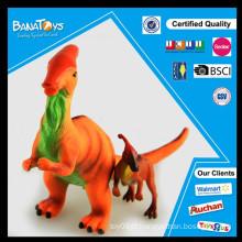 2015 itens promocionais soft dinossauro de borracha brinquedo de tamanho real dinossauro modelos