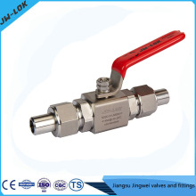 China best-selling SS high Pressure electric actuator ball valve
