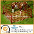 metal tubular cattle/cow/horse fence rails galvanized livestock farm fence panel