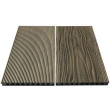 Decking do Wpc - revestimento oco do Wpc do revestimento da textura da madeira