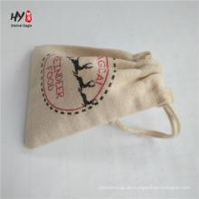 verschiedene Farbe benutzerdefinierte Werbe Leinwand Kordelzug Taschen
