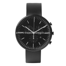 Swiss Quartz Watch Sapphire Glass Watch Black Men