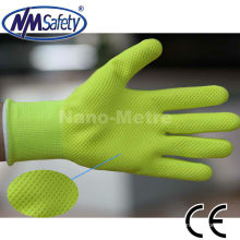 NMSAFETY new style micro foam latex illuminant glove top glove