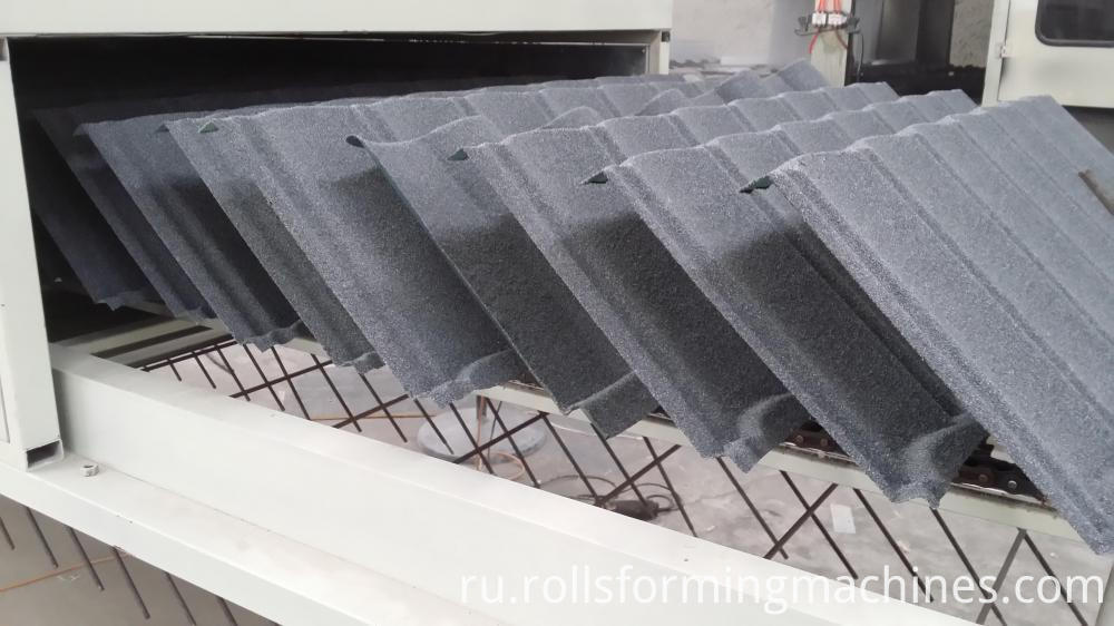 Steel Stone Roofing Tiles Making Machine