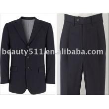 Dark Navy Men's 3 Button Slim Fit Suit mr-2