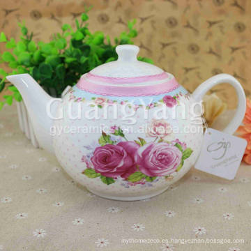 Delicate Design Artwork Esmalte Chinese Pot