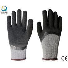 Рабочие перчатки с покрытием из пеноматериала 10g T / C Latex 3/4