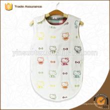 6-ply gasa algodón bebé sueño swaddle suave y transpirable abrigo de bebé