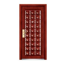Armored Steel Wooden Door