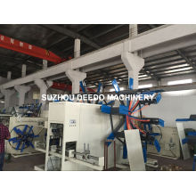 Enrutador y bobinador de tubo plástico de HDPE / PPR