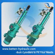 Empujador de cilindro hidráulico del motor eléctrico de la serie de Dytf