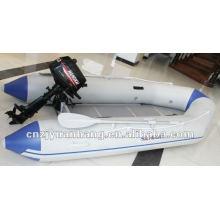 (EC) Radeau gonflable pêche bateau bateau/caoutchouc utilisé