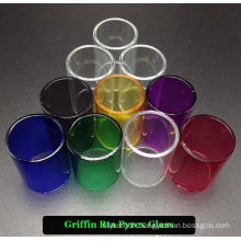 Factory Price Colorful Griffin Replacement Galss Tube (22mm)