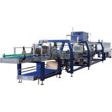 Machines automatiques d'emballage de film rétractable de plateau de bouteille