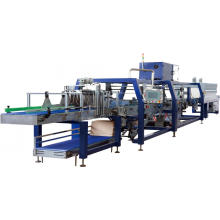 Automatic Bottle Tray Shrink Film Wrapping Machinery