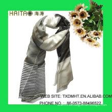 Buen quanity, diseño del molino, bufanda de seda de las más nuevas mujeres