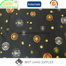 100 Pes 250t Twill Printed Lining Fabric China Manufacturer