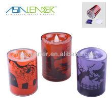 Пластиковые светодиодные свечи для украшения