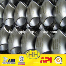 DIN/ANSI/JIS/EN 90 degree stainless Steel Elbow