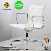 Chaise de réunion Version orginal cuir pivotant Bureau (GV-EA108)