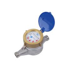 Stainless Steel Residential Water Meters Insertion Type , Vane Wheel Water Meter