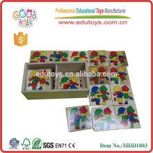 Caja De Madera De Puzzle Juguetes Kinder
