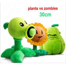 Custom Crane Machine Stuffed Toy Plants Vs Zombies Plush Toy