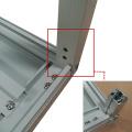 Gabinete de red de metal para montaje en pared
