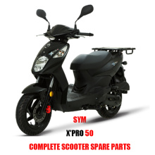 X' PRO 50 for SYM X PRO Spare Parts 50 Complete Scooter Spare Parts Original Spare Parts
