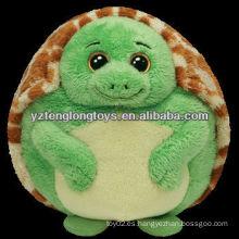 Venta caliente juguete relleno y lindo de peluche de peluche de tortuga