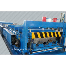 Customize Quality CE &ISO Galvanized Steel Floor Deck Roll Forming Machine