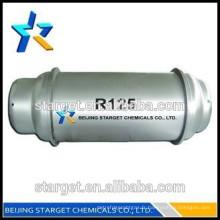Bonne qualité pure 99,9% / composante importante de r410a / réfrigérant r125 Y