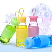 Bouteille d'eau de promotion enfant avec manchon en silicone