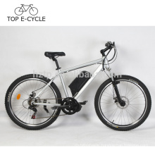 2017 DIY e bike Chinese top fashion electric bike with bafang mid-drive motor system portable electric bicycle