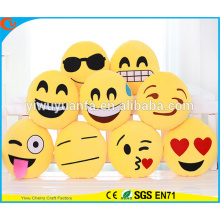 Hot Selling Novelty Design Decore Emoji Pillow com Expressão Facial