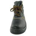 Sapatos de segurança em aço Toe Leather Work Safety