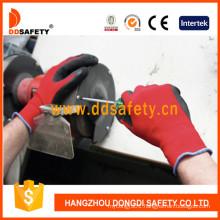 Nylon Liner Latex Crinkle Glove Dnl111