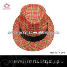 Sombrero del sombrero de la señora y casquillo enrrollado del partido