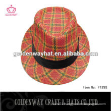 lady fedora hat and funky party cap