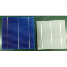 High Conversion Efficiency Poly Solar Cells for Solar Panels with 3 Bus Bar