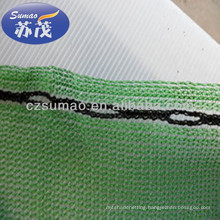Hdpe Raschel Knitted Windbreak Net / Anti Wind Net For Harbor , Highway