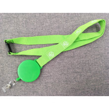 Promotion Strap Custom Silk Printed Logo Lanyard with Yoyo