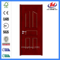 *JHK-005 6 Panel Wood Doors Custom Wood Mahogany Door Commercial Wood Doors
