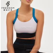 Personnalisé desi femme sexy photo sexy hot desi fille photo bangladeshi sexy sexy photo cross back sport soutien-gorge