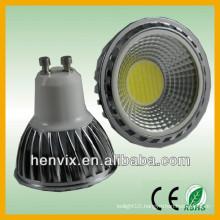gu10 cob led spot lighting 5w