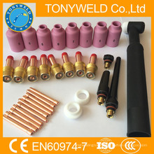 32 PK tig parts kits for wp26 tig torch spare parts