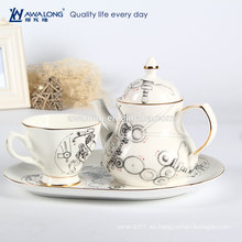 Set de café de azúcar de café conjunto, conjunto de dabra de café, conjunto de taza de café