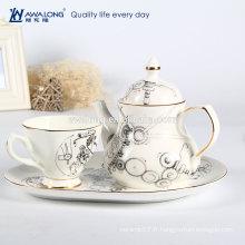 Ensemble de canette à thé, set de café, ensemble à café